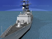 3d destroyers class spruance dd