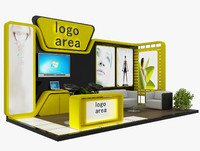 3ds max stand 6 booth