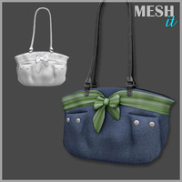 handbag bag 3d obj