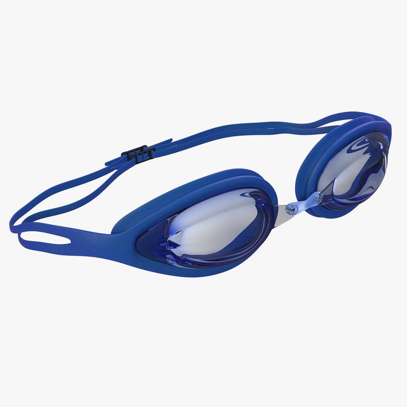 Swim Goggles 3d model 00.jpg