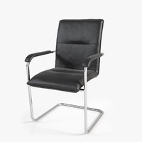3ds max realistic conference chair 1