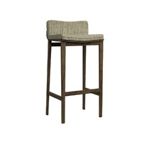 solid barstool 3d model