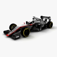 3d model of mclaren honda mp4-30