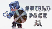 3d model minecraft shield pack