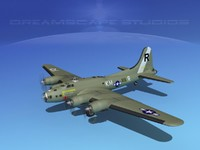 maya b-17 hp boeing flying fortress