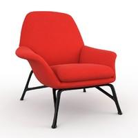 prince minotti armchair 3d model