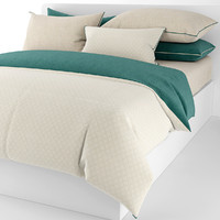 3d bedding pillows sheet model