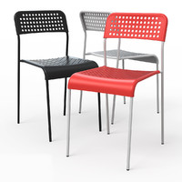 3dsmax adde dining chair