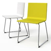3dsmax bernhard dining chair