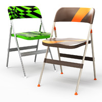maya frode folding dining chair