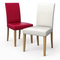 henriksdal dining chair 3d obj