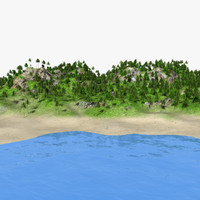 island mht 3d max