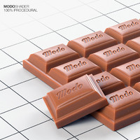 Modo Shader - Chocolate