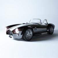 3d model of cobra 427