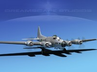 b-17 hp boeing flying fortress max