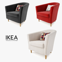 3d ikea tullsta chair seat