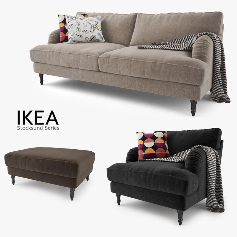 Ikea Stocksund Series Sofa Chair Max
