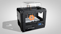 printer - replicator 3d model