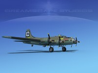 3d b-17 boeing flying fortress
