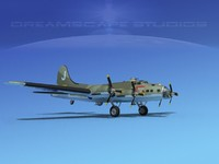 3ds b-17 boeing flying fortress