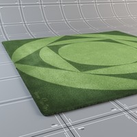 3d model carpets verner panton -