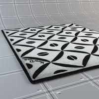 3d max carpets verner panton -