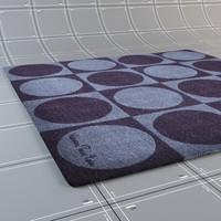 3d model carpets verner panton -