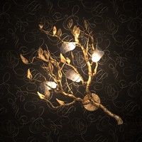 branch chandelier 3d max