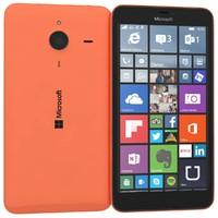 microsoft lumia 640 xl 3d model