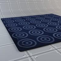 carpets verner panton - 3d max