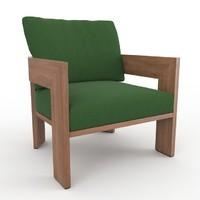 3d warhol inoko minotti armchair