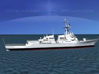 3d ship arleigh burke class