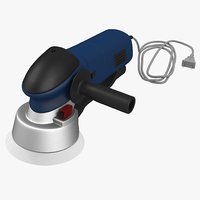 3d sander tool model