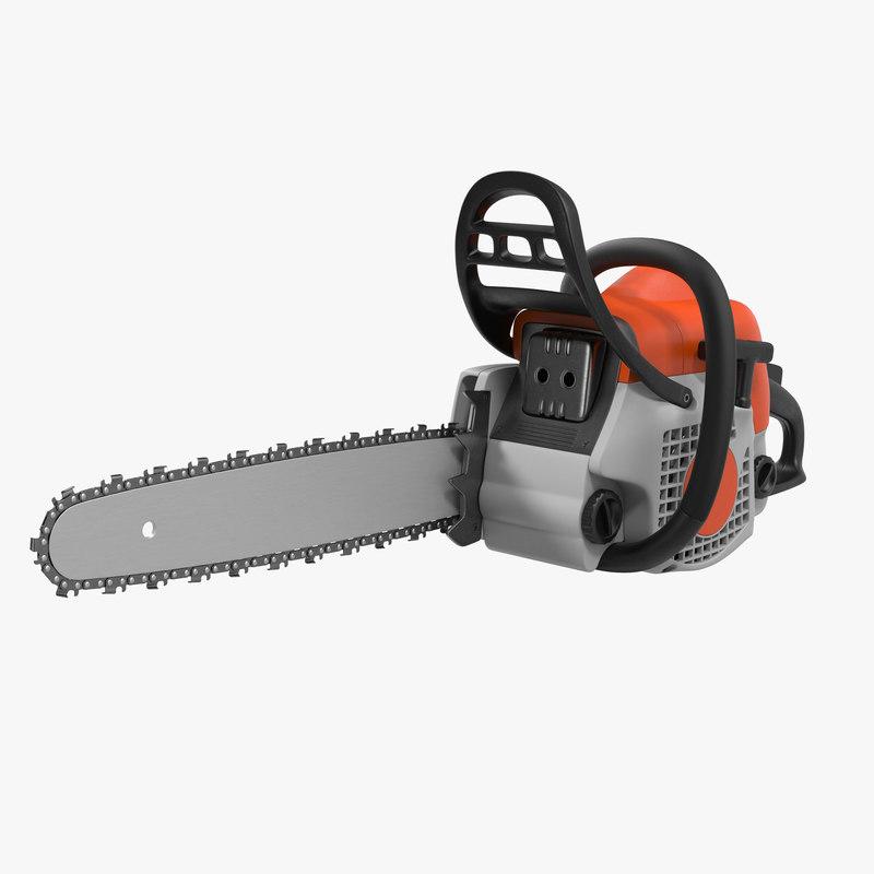 Chainsaw 3d model 00.jpg