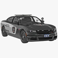 Dodge Charger 2015 Police Car