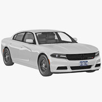3ds max dodge charger 2015 simple