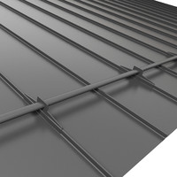 Roofing metal