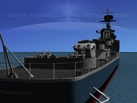 3dsmax anti-aircraft gearing class destroyers