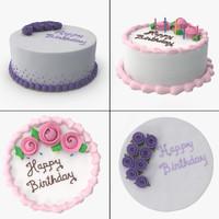 3d cakes 1 model