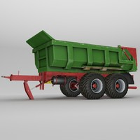 3d hilken hi2250smk trailer model
