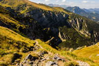 Tatra Mountains - View toward Dolina Mietusia