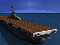 class carriers essex uss 3d max