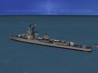 3dsmax destroyer gearing uss navy