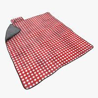Picnic Blanket Red