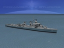 sumner class destroyer 3D models