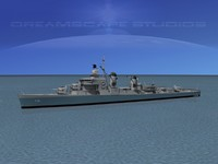 sumner class destroyers dxf