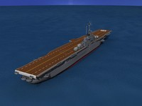 3d anti-aircraft class carriers ticonderoga model