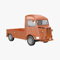 3d citroen hy pickup