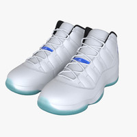 Air Jordan 11 Legend Blue Basketball Shoes