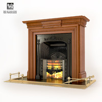 fireplace regency stovax 3d max
